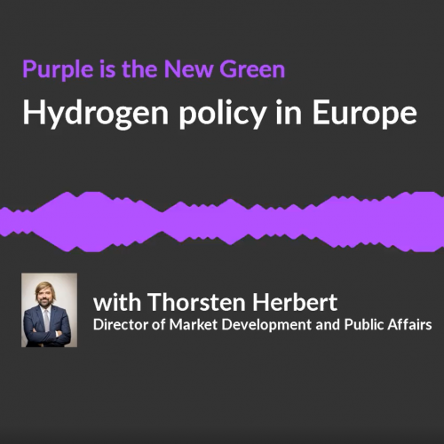 hydrogen, policy, podcast, Europe