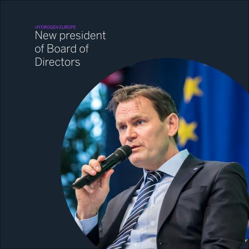 Hydrogen Europe, H2, Hydrogen, president, BoD, Board of Directors