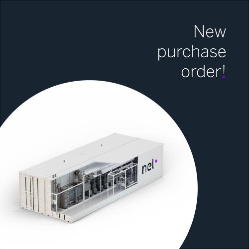 purchase order, PO, electrolyser, electrolyzer, PEM, MC400, hydrogen