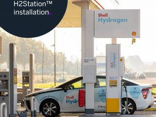 Shell, hydrogen, hydrogen fueling, refueling, H2Station
