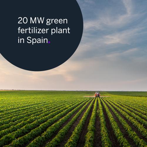 hydrogen, green hydrogen, fertilizer