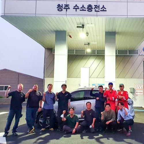 South Korea, hydrogen, refueling, H2